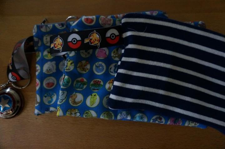 zipper bag- I made three