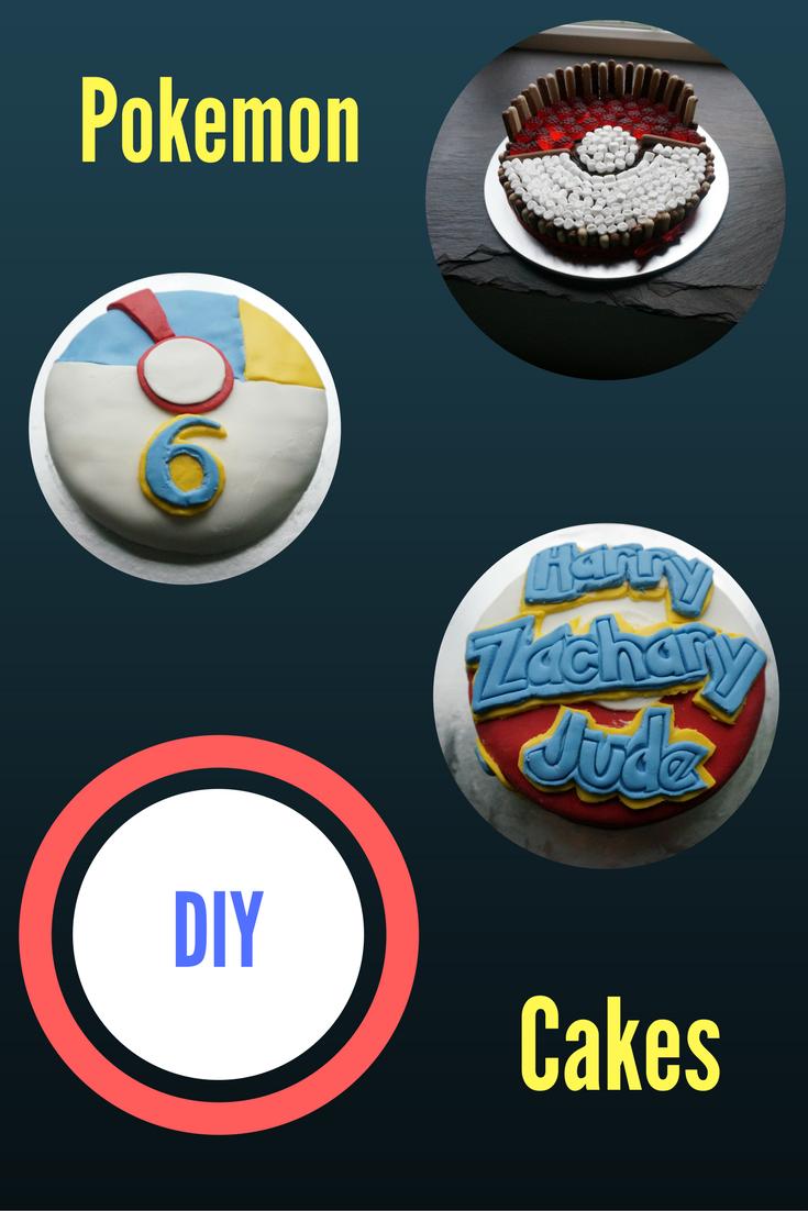 Pokemon cakes DIY