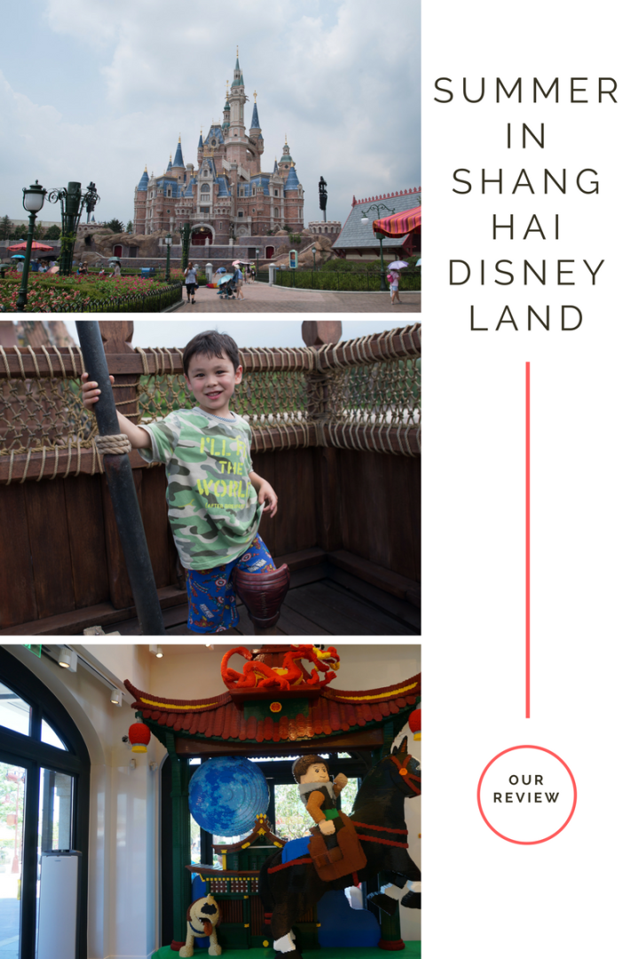 Shanghai disney land summer review